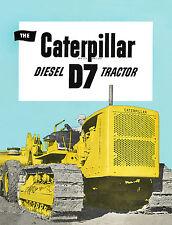 Caterpillar D7 3T Diesel Tractor Sales Book 1944