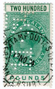 (I.B) New Zealand Revenue : Stamp Duty £200