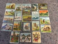 Lot Of 21 Assorted Cigarette Cards-Non Sports-Native American
