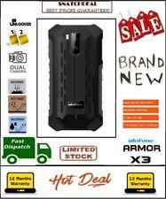 Rugged Smartphone, Ulefone Armor X3 Phone 2019, 2GB RAM 32GB ROM Dual Sim, BLACK