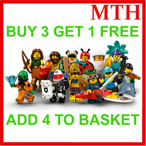 LEGO 71029 SERIES 21 MINIFIGURES (Pick Your Minifigure) Buy 3 Get 1 Free!! NEW