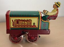 Tin Litho Tractor Wind Up Toy Contemporary Paya Toys