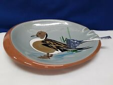 Stangl Pottery Pintail Duck Ashtray Large Hand Painted Never Used Ex Condition