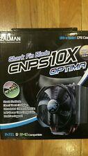 Zalman CNPS10X Optima Shark Fin Blade CPU Cooler Heat Sink For Intel