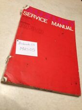 Suzuki 50 M30 M 30 workshop service manual manuel atelier  éd. 64