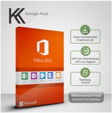 MS Office 2016 Professional Plus, Pro Plus, 32&64 Bits, Produktkey per E-Mail
