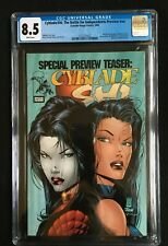 Cyblade/Shi: The Battle For Independents Preview #nn CGC 8.5 3737273023