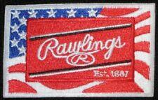 "Rawlings Embroidered Baseball Softball Glove Patch 2 3/4"" X 1 3/4"" ~Rare ~New"
