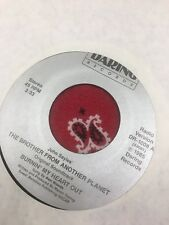 "Burnin My Heart Out , Soundtrack ""The Brother From Another Planet""7 Inch Record"