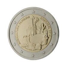 """Portugal 2 Euro commemorative coin 2014 """"Family Farming"""" - UNC"""