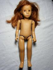 Early Gotz Redhead Sasha Doll - No Philtrum - Brown Eyes