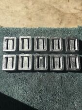 10-3lbs Each Of Lead Scuba Skin Diving Weights, Crab Traps, Sinkers.