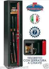 FUCILIERA HS400SC Kg 54 ARMADIO 7 POSTI A156xL37xP32 TECHNOMAX Securemme T.Laser