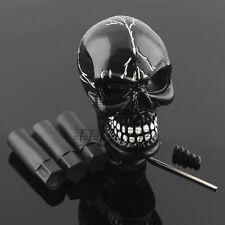 Skull Head Universal Car Truck Manual Stick Gear Shift Knob Lever Shifter Black