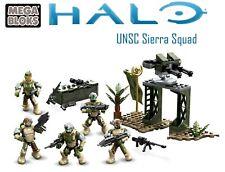 Halo Mega Construx UNSC Sierra Squad Complete UNSC Marines 2015 BONUS FIGS