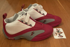 Reebok Answer IV 20th Anniversary Men Retro Basketball White/Red FY9690 Iverson
