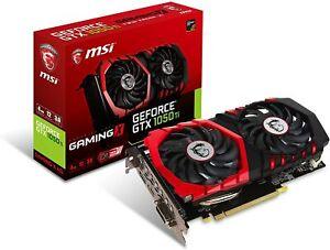 MSI Graphic Cards 128 bit 4GB GDDR5 GeForce GTX 1050 TI GAMING X 4G Graphics