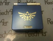 Blue & Silver Zelda GameBoy Advance SP *MINT* AGS-101 Brighter Nintendo System