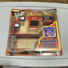 1998 WWF GRAPPLE GEAR COMMENTATORS CENTRAL RAW IS WAR JAKKS PACIFIC WWE WCW A4