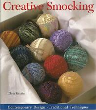 Creative Smocking soft cover book by Chris Rankin