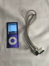 Apple iPod Nano A1285 4th Gen Mp3 Audio 16GB Purple Good condition used (F2)