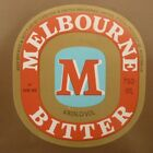 OLD AUSTRALIAN BEER LABEL, 1980s MELBOURNE BITTER CUB, 750 ML TYPE 9