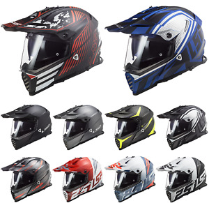 LS2 MX436 Poineer Evo Motocross ATV Off Road Enduro BMX Track Helmet