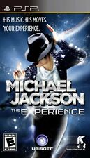 Michael Jackson: The Experience (2010) Brand New Factory Sealed USA Sony PSP DQK