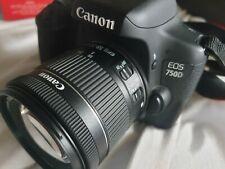 Canon EOS 750D 18-55mm IS STM DSLR Spiegelreflexkamera Top Zustand 64GB SanDisk