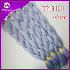 "24"" Yaki Jumbo Braiding Hair Synthetic Hair Extension Twist Braids 80g T4110"