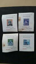 Spain 4 Mini sheets 300th Anniversary of Velazquez's Death 1961