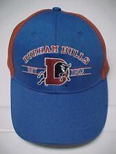 DURHAM BULLS Est. 1902 Adjustable Stitch Blue Baseball Cap Pro Forma