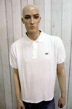 LACOSTE Uomo Polo 7 Taglia 2XL Cotone T-Shirt Casual Maglietta Manica Corta