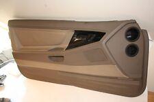 BMW E31 840 850 i Ci gauche porte avant Carte TRIM PANEL parchemin en cuir beige