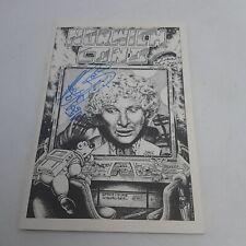 Doctor Who Convention Programm Norwichcon II (1988) Unterzeichnet Colin Baker