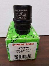 Cosmicar/Pentax C70612 6-12mm F/1.6 Lens