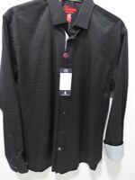 Luchiano Visconti Men's Shirt, Black, Medium, NWT