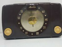 Vintage Arvin Radio Model 450-TL Chassis Brown Bakelite Plastic UNTESTED PROJECT