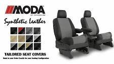 Coverking Synthetic MODA Leather Front & Middle Seat Covers for Toyota Sienna