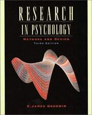Research in Psychology: Methods and Design, 3rd Edition