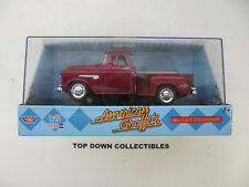 Motor Max American Griffiti 1955 Chevy Stepside Die Cast Collection Nib 1:64