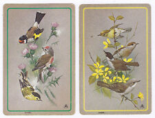 2 Maurice J.Pledger Birds Single swap Playing Card