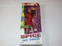 Spice Girls On Tour 1998 Geri Halliwell Ginger Spice Doll Girl Power Galoob RARE