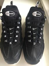Nike Air Max 95 Premium Size 11  (46) Black with white sole and Nike Trim- used
