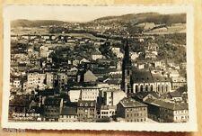 1940s AUSSIG AM ELBE, GERMANY, BIRDSEYE VIEW REAL PHOTO POSTCARD FELDPOST RPPC