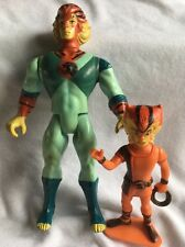 Original Vintage 1985 LJN Thundercats loose Figure - Young Tigray W/ Wilykat