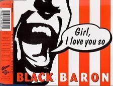 BLACK BARON - Girl I love you so 4TR CDM 1994 EURODANCE