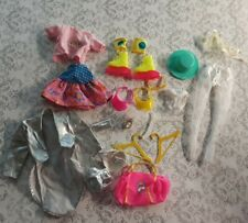 Lot Of Vintage Barbie Clothes And  Accessories