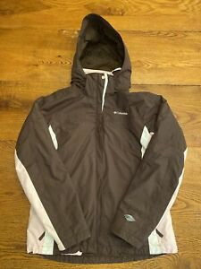 Columbia Sportswear women's L Brown Pink Whirlibird Ski Jacket