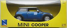 NewRay - Mini Cooper (2008) blau 1:24 Neu/OVP Modellauto